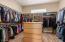 HUGE Owner's Suite Closet