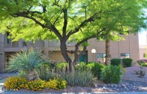 Gorgeous landscape surrounds this unit & through out complex. Includes fruit trees to share