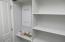 Laundry Room Storage & Network Wiring Panel