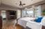 Large Owner's Suite with access to the Backyard