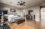 Large Owner's Suite with Hardwood Floors