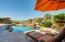 Total privacy as your enjoy the sparkling pool and mountain views