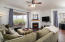 HUGE and open great room space