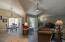vaulted ceilings and shutters