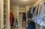 walk in closet with great use of space