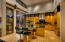 Eat-in kitchen with double ovens and walk-in pantry