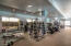 1 of the 2 Fitness centers - ammenities