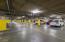 Underground parking garage - 1 assigned spot