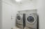 Laundry off kitchen with entrance to garage - WASHER & DRYER STAY!!!