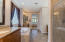 Walk in shower additional vanity, block privacy window with natural light flow!