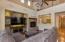 high ceilings, warm tones, clerestory windows ,rich wood floors and incredible open feel