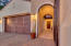 Courtyard entry providing both an inviting feel and added security.