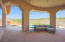 Spacious covered patio for those family or friend gatherings