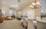 Vaulted ceiling helps create that SPECIAL entertaining space