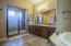 Master bath with seperate toilet room
