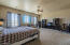 Upstairs master suite has endless possibilities