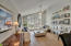 Light and Airy, LR, plantation shutters t/o