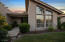 Early evening view of home-