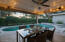 Entertaining a treat with this lovely covered area by the pool
