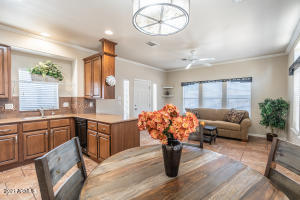 Lovely Pueblo model offers an open kitchen to living concept making entertaining a delight.