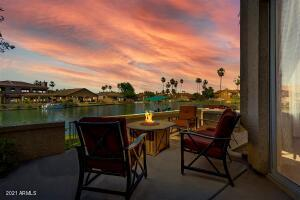 Sunsets from your private patio