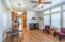 Greatroom designed living / dining room.