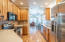 Smooth top stove, microwave, dishwasher, side by side refrigerator, full size washer and dryer will stay.