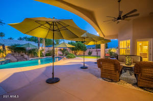 Enjoy the lovely patio & pool