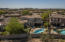 The open desert space makes for a great view from the back yard and owners suite!