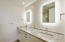 Ensuite bathroom for bedroom 2 is luxurious and beautifully appointed