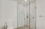 Ensuite bathroom for bedroom 2 has a gorgeous, spacious glass shower