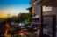 The resort-like backyard is peaceful. with incredible views. An ideal space to relax and entertain