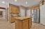 Direct access to 2 car garage & laundry room.