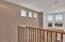 Great Mountain views from the loft area and upstair bedrooms