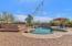 Your backyard oasis has lots of built in amenities