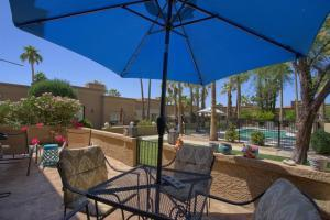 Desert Oasis to courtyard style community pool