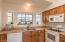 kitchen and bay windows