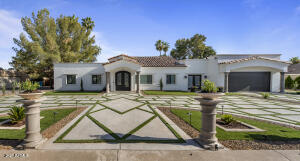 This recently remodeled home has been thoughtfully designed with attention to every detail both inside and out.