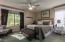 Very spacious main bedroom