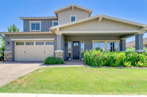Welcome home to this gorgeous two-story property in Warner Groves at Morrison Ranch!  3 car garage & grassy landscaping. Fantastic interior shouts attention to detail t/out! Large living/dining room, cozy family room, wood-plank tile flooring, custom paint, carpet in all the right places, lovely lighting fixtures, sizeable loft, & windows for lots of sunshine. Impressive kitchen boasts SS appliances, solid-surface countertops, white shaker cabinets w/crown molding, and big island w/sink & breakfast bar. Spacious master bedroom has a lavish bathroom with a huge walk-in closet & all the must-haves. You'll surely love the amazing backyard with an extended covered patio, many seating areas, putting green, in ground trampoline, fire bar, spa, & sparkling pool perfect for private gatherings.