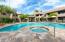 New tile pool decking