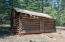 Original cabin on site