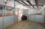 Rubber mats and feed bins