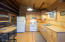 Added Guest Cabin kitchen with propane appliances