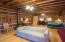 Open floor plan with solid Maple Hardwood flooring