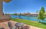 water front patio space
