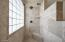 Large, Updated, Walk-In Shower