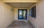 Travertine Stone In front Entry Way