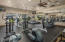 No gym membership needed here! Workout in the fitness center.