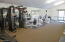 WORKOUT AREA AT CLUBHOUSE